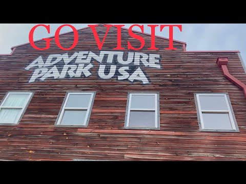 Adventure Park USA tour + POV