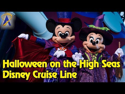 Set sail for Halloween on the High Seas with Disney Cruise Line