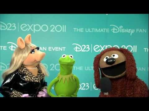 Muppets talk about Jim Henson getting a Disney Legends award at D23 Expo 2011
