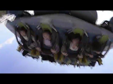 Jurassic Park: The Flying Dinosaur - Ride Video
