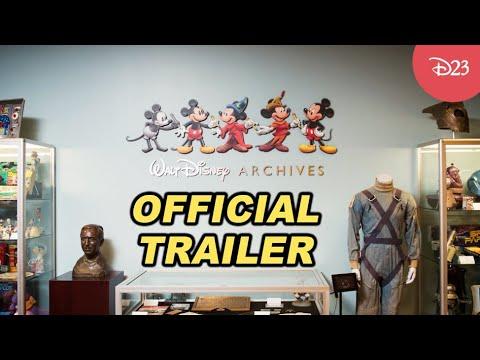 Adventure Thru the Walt Disney Archives | Official Trailer