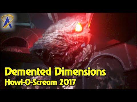 Demented Dimensions at Howl-O-Scream 2017 Busch Gardens Tampa Bay
