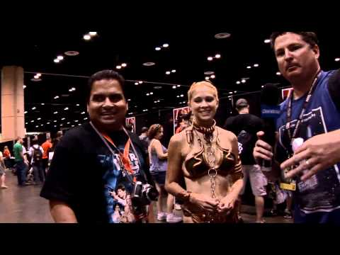 Costumed fan interviews and more from day one at Star Wars Celebration V in Orlando, Florida