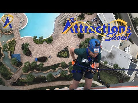 The Attractions Show! - Rappelling for a Cause; Robot Cheerleaders; latest news