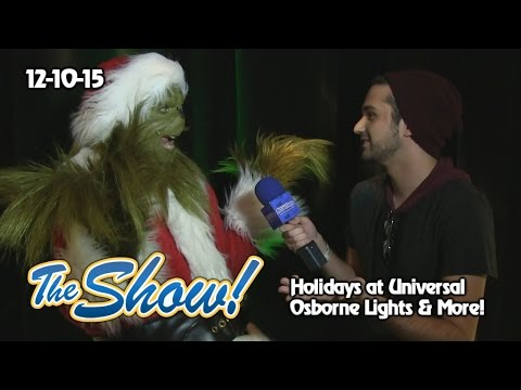 Attractions - The Show - Holidays at Universal; Osborne Lights; latest news - Dec. 10, 2015