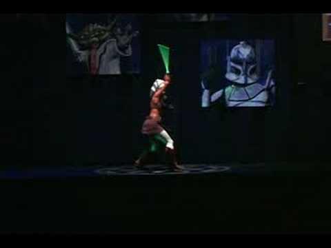 Introducing Ahsoka Tano Disney Star Wars Weekends 2008
