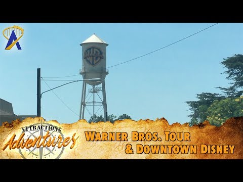 Attractions Adventures - 'Warner Bros. Tour & Downtown Disney'