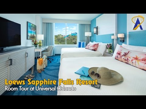 Sapphire Falls Resort Room Tour at Universal Orlando