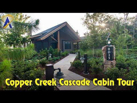 Cascade Cabins Tour in Copper Creek at Wilderness Lodge
