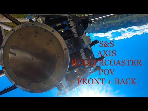 S&S Axis prototype POV Front + Back Seat