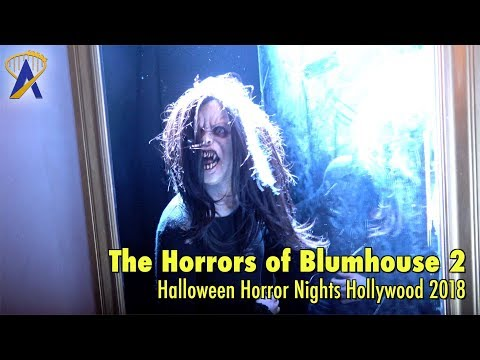 The Horrors of Blumhouse: Chapter Two maze at Halloween Horror Nights Hollywood 2018