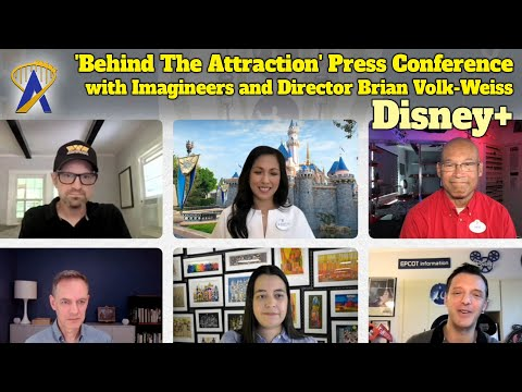 Disney+ 'Behind The Attraction' Press Conference With Imagineers and Director Brian Volk-Weiss