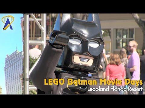 LEGO Batman Movie Days at Legoland Florida Resort