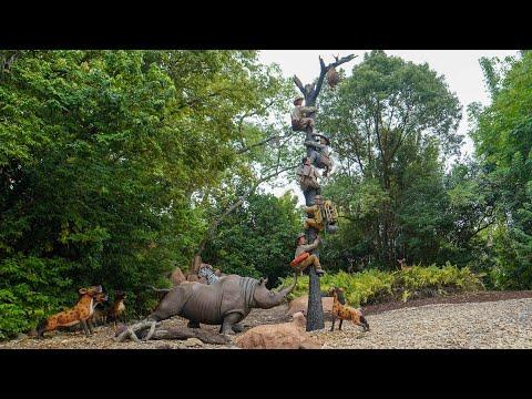 """New """"Trapped Safari"""" Scene in Jungle Cruise at Magic Kingdom"""