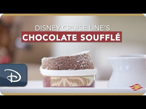 Learn How to Make Disney Cruise Line's Palo Chocolate Soufflé