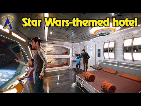 Fully Immersive Star Wars Hotel announced for Walt Disney World