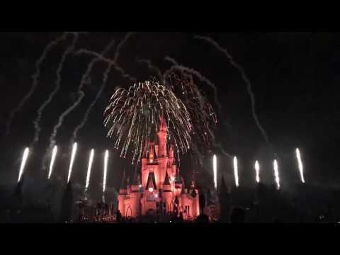 Holiday Wishes: Celebrate the Spirit of the Season Fireworks at Magic Kingdom