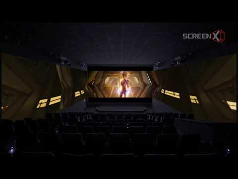 Captain Marvel in ScreenX | Trailer