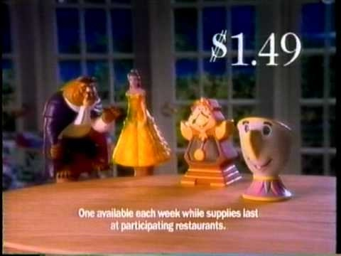 Pizza Hut Beauty and the Beast Commercial (1992)