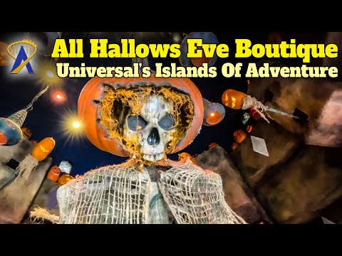 All Hallows Eve Boutique – New Halloween Store Opens At Universal's Islands of Adventure Park