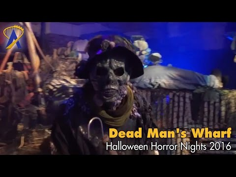 Dead Man's Wharf Scare Zone for Halloween Horror Nights 2016 at Universal Orlando