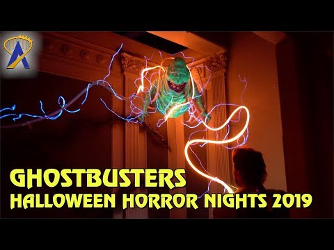 Ghostbusters highlights from Halloween Horror Nights Orlando 2019