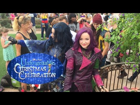 """Descendants perform """"Rotten to the Core"""" at 2015 Disney Christmas Celebration taping"""