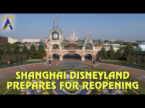 Shanghai Disney Resort Prepares for Reopening in China