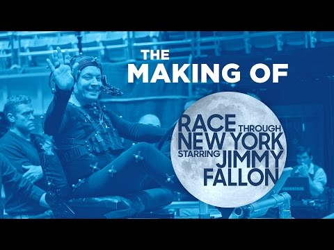 The Making of Race Through New York Starring Jimmy Fallon