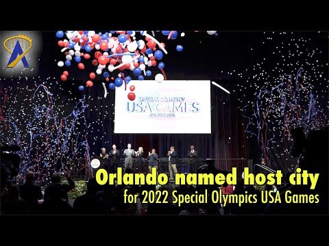 Orlando announced as host city for 2022 Special Olympics USA Games
