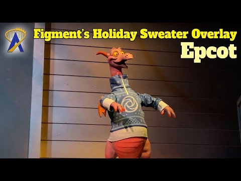 (Small) Holiday Overlay to Journey Into Imagination With Figment