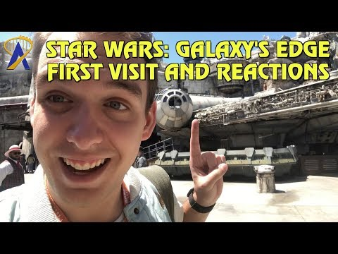 Vlog: Our First Visit to Star Wars: Galaxy's Edge, First Reactions!