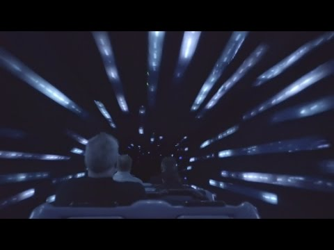 Low-Light Star Wars Hyperspace Mountain POV at Disneyland