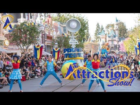 The Attractions Show! - Surfari Water Park; Pixar Fest at Disneyland; latest news