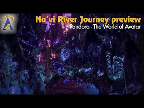 Preview of Na'vi River Journey inside Pandora - The World of Avatar at Disney's Animal Kingdom