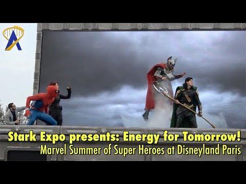 Stark Expo presents: Energy for Tomorrow! - Marvel Summer of Super Heroes at Disneyland Paris