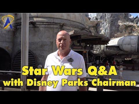 Interview: Star Wars: Galaxy's Edge with Disney Parks Chairmain Bob Chapek