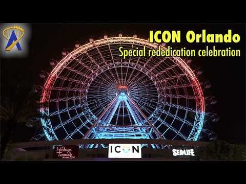 Orlando Eye rebranded as ICON Orlando with special moment and fireworks