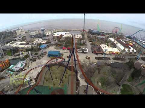 Valravn Dive Roller Coaster POV at Cedar Point