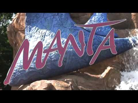 Manta Opening SeaWorld Orlando - Views, Interviews, & Queue