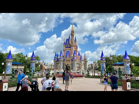Live from Disney's Magic Kingdom on the first reopening day
