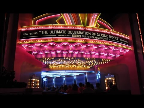 Updated Great Movie Ride presented by TCM with full new finale montage