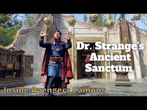 Full Doctor Strange Mysteries of the Mystic Arts Show in Avengers Campus