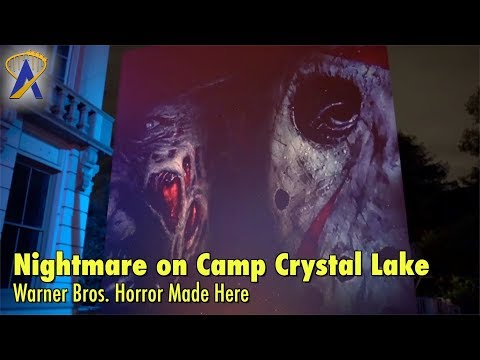 Nightmare on Camp Crystal Lake at Warner Bros. Studio Tour Horror Made Here