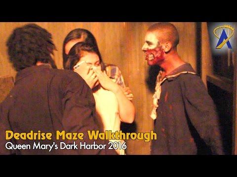 Deadrise - Full Maze at Queen Mary Dark Harbor 2016