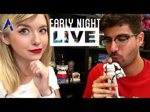 Early Night Live: Q&A at Fun Spot America - Orlando