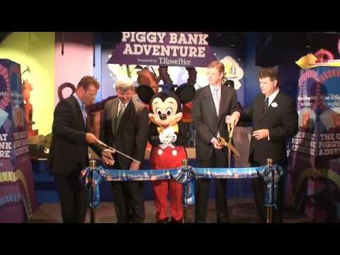The Great Piggy Bank Adventure opens in Epcot's Innoventions