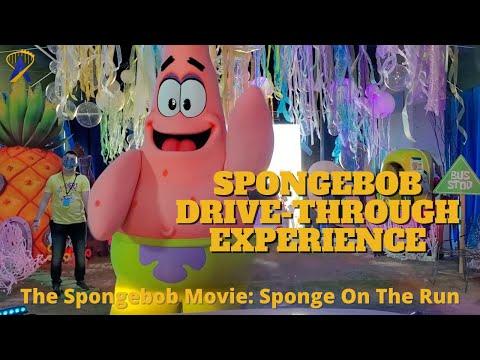 Spongebob Squarepants Drive-Through for 'Sponge on the Run'