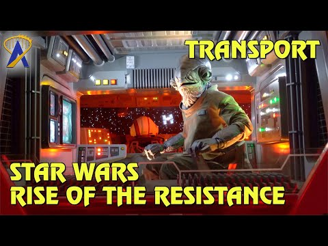 I-TS Transport POV Front & Back - Star Wars: Rise of the Resistance at Star Wars: Galaxy's Edge
