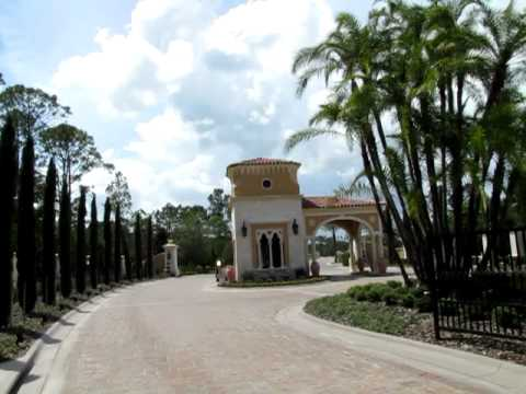 Disney's Golden Oak Development - Luxury Homes at Walt Disney World 6/27/10